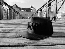 Profound Aesthetic Genuine Leather Midnight Mastermind Snap-back
