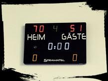 Endergebnis gegen SC Potsdam