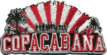Anti Polizei Aufnäher, COP ACAB Ana FCB Bayern FCK-Ultras-Hooligans-Fanclub-Copacabana-Aufnaeher-Patch-100x50mm