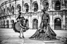 Nîmes Gard Fête Flamenco Feria joie Davcsl arenes maison carrée