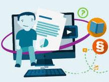 Medien in die Schule ist eine inhaltsstarke Seite mit diversen Unterrichtseinheiten, digitalen Werkzeugkästen und einer Vielzahl an Apps