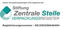 Siegel Verpackungsregister Fensterbank Online Shop