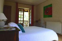 Das Zimmer Coquelicot auf der ersten Etage