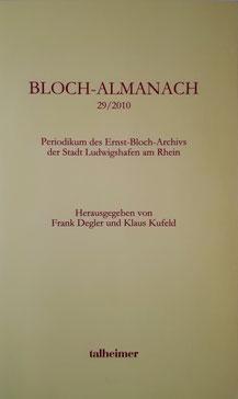 Bloch-Almanach, Folge 29/2010
