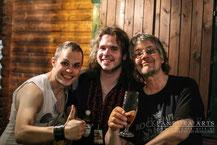 Don Airey (Deep Purple), Phil Vanderkill & me