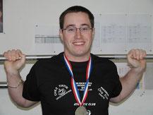 Raphaël PINAT Vice Champion de France ESPOIRS 2008