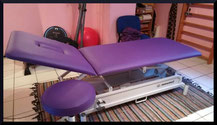 marylinegrac- tapissier d'ameublement-Table d'examen médical