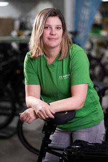 Lasten e-Bike Expertin Meike Dirks