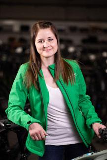 Lasten e-Bike Expertin Sabrina Kornely