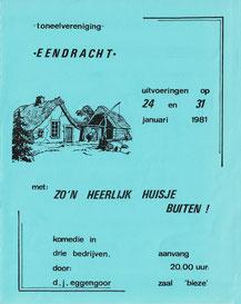 Zo'n heerlijk huisje buiten - 1981