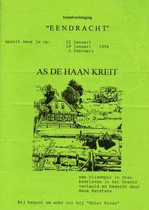As de haan kreit - 1994