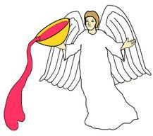 """Les nations qui allaient être détruites par Dieu devaient symboliquement boire du vin de la colère de Dieu. """"Prends de ma main cette coupe du vin de ma colère et fais-la boire à toutes les nations vers lesquelles je t'enverrai"""" dit Jéhovah Dieu."""