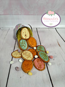 Easter biscuits,Speckled egg biscuits
