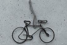 Drahtanhänger Fahrrad