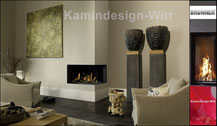 Gaskamin Eck-Kamin 40x96x32