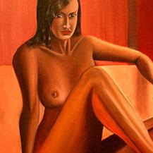 akt, nude, eroticism