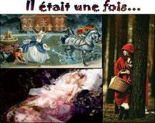 sélection de livres adaptés de contes célèbres