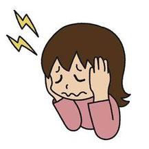 顎関節症の原因の一つになるストレス