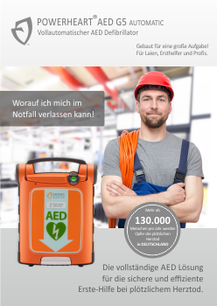 POWERHEART AED G5 -Industrie-
