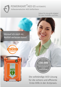 POWERHEART AED G5 -Arztpraxis-