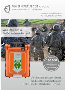 POWERHEART AED G5 -Militär-
