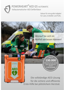 POWERHEART AED G5 -RESCUE-