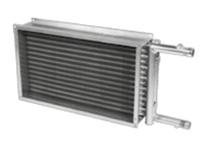 Водяной нагреватель для канальной вентиляции