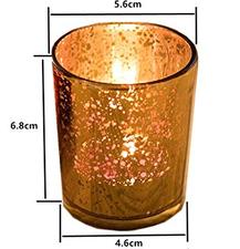 goldene Teelichthalter