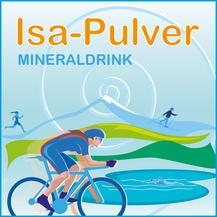 Isa Pulver ist die Schweizer Ultracycling Sportlerin, welche am Race Across Amerika teilgenommen hat. In Zusammenarbeit wurde die Sporternährungsline isapulver entwickelt. Das Eiweisspräparat oder auch der isotonische Drink schmecken angenehm.