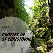 Grottes de St-Christophe ancienne voie sarde