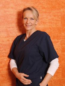 Dr. Astrid Kunkel, angestellte Zahnärztin in der Zahnarztpraxis Markus Belt, Griesheim (© I. Jasnau, MOGO-Foto)