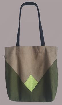 beige - hellgrün - olivgrün