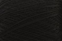 Coton Oeko-Tex noir pour bijoux au crochet