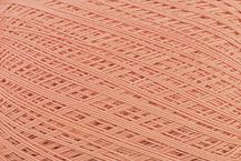 Coton Oeko-Tex orange pour bijoux au crochet