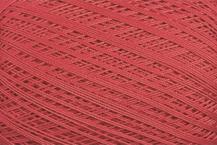 Coton Oeko-Tex rouge vif pour bijoux au crochet