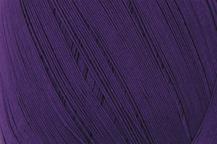 Coton Oeko-Tex violet foncé pour bijoux au crochet