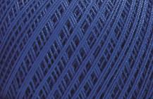 Coton Oeko-Tex bleu pour bijoux au crochet avec perles