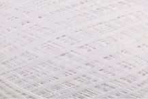 Coton Oeko-Tex blanc pour bijoux au crochet