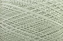 Coton Oeko-Tex vert clair  pour bijoux au crochet