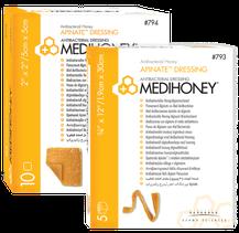 Medihoney antibakterieller Alginatverband Produktfoto