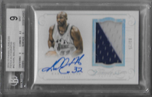 KARL MALONE / Auto Patch - No. PA-KM  (#d 3/25)