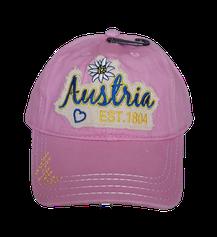 Kinderkappe Austria Est. rosa