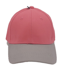 Kappe Kids pink-grau
