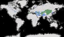Verbreitung der Gattung Aegypius