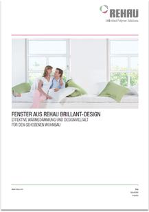 Prospekt REHAU Brilliant-Design. von JURA Kunststoff-Fenster