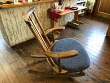 川辺町 ふるさと納税 ギタリストの椅子 ギター演奏用の椅子 ゆらゆら座椅子 ロッキングチェアー ロッキングチェア