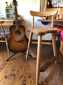 川辺町 ふるさと納税 ギタリストの椅子 ギター演奏用の椅子