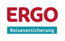 Logo der ERGO Reiseversicherung für Vertriebspartnerin, persönliche Ansprechpartnerin und Reiseschutz-Profi Ina Bärschneider