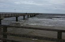 Die Seebrücke in Ahlbeck