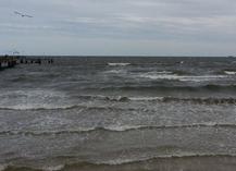 Die Ostsee bei Heringsdorf